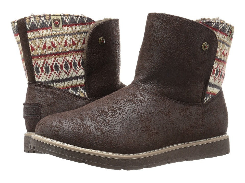 BOBS from SKECHERS Bobs Alpine Snowday (Chocolate) Women