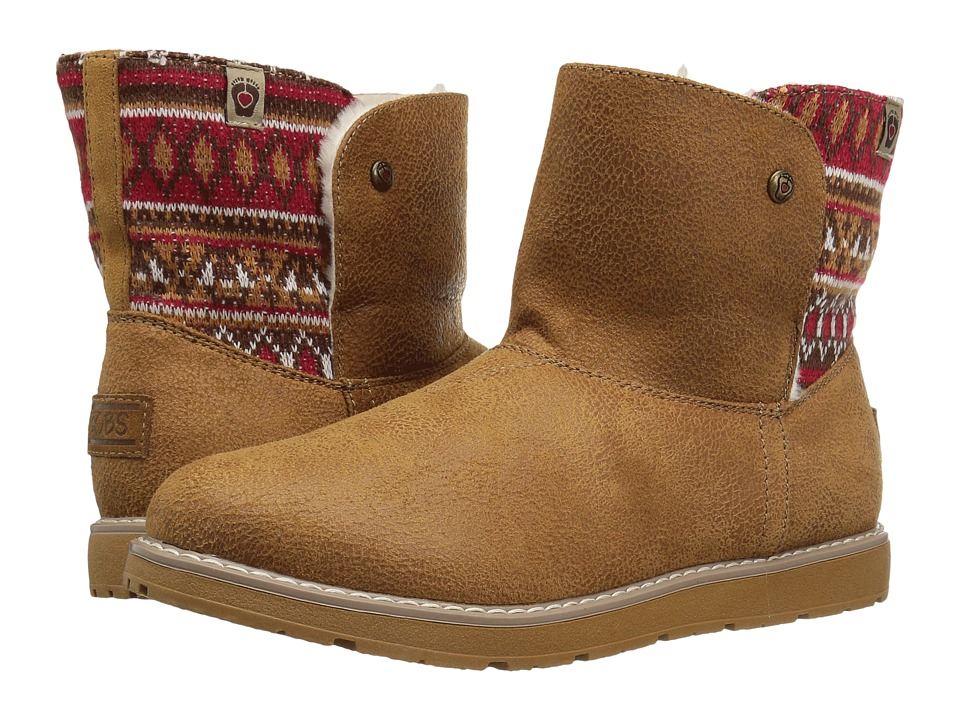 BOBS from SKECHERS Bobs Alpine Snowday (Chestnut) Women