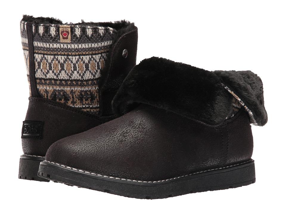 BOBS from SKECHERS - Bobs Alpine - Snowday (Black) Women's Boots