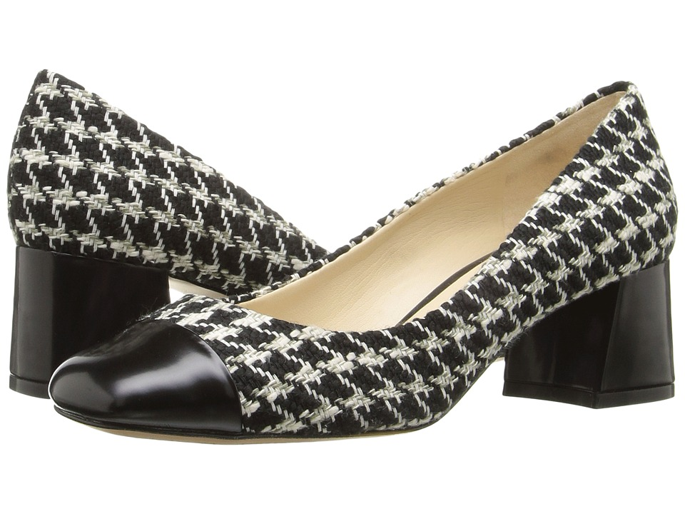 Nine West - Zip Zap (Black/Black Leather) Women's Shoes