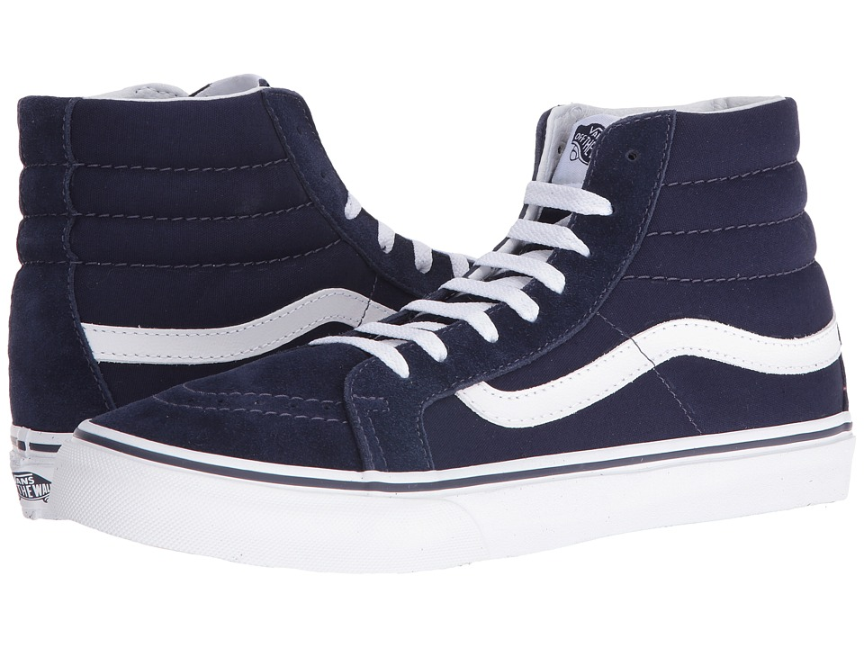 Vans - SK8-Hi Slim (Eclipse/True White) Skate Shoes