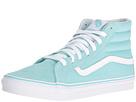 SK8-Hi Slim (Aruba Blue/True White) Skate Shoes