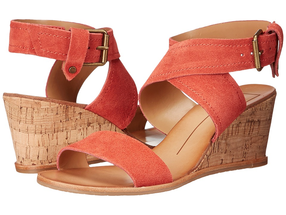 Dolce Vita - Lannah (Red Orange Suede) Women