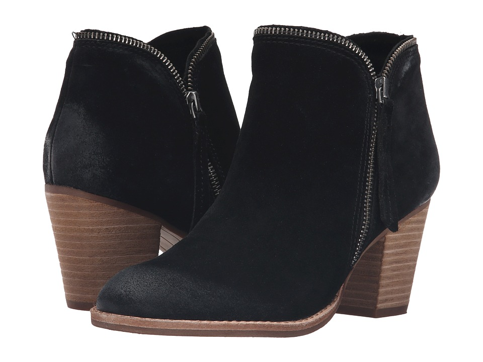 Dolce Vita - Joel (Black Suede) Women's Shoes