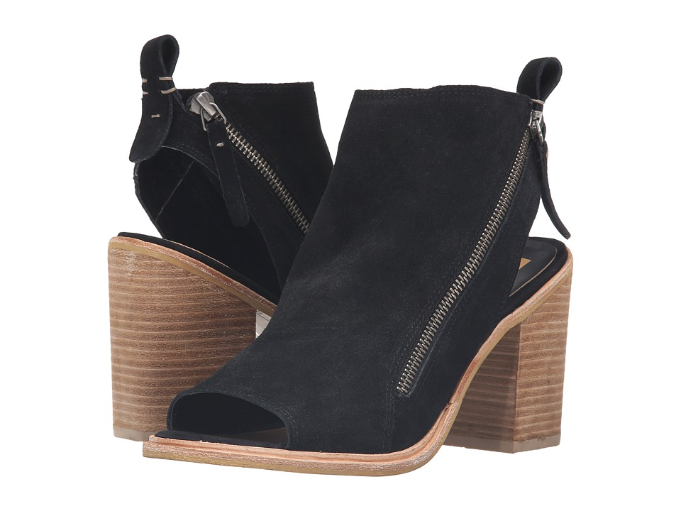 Dolce Vita - Perry (Black Suede) Women's Shoes