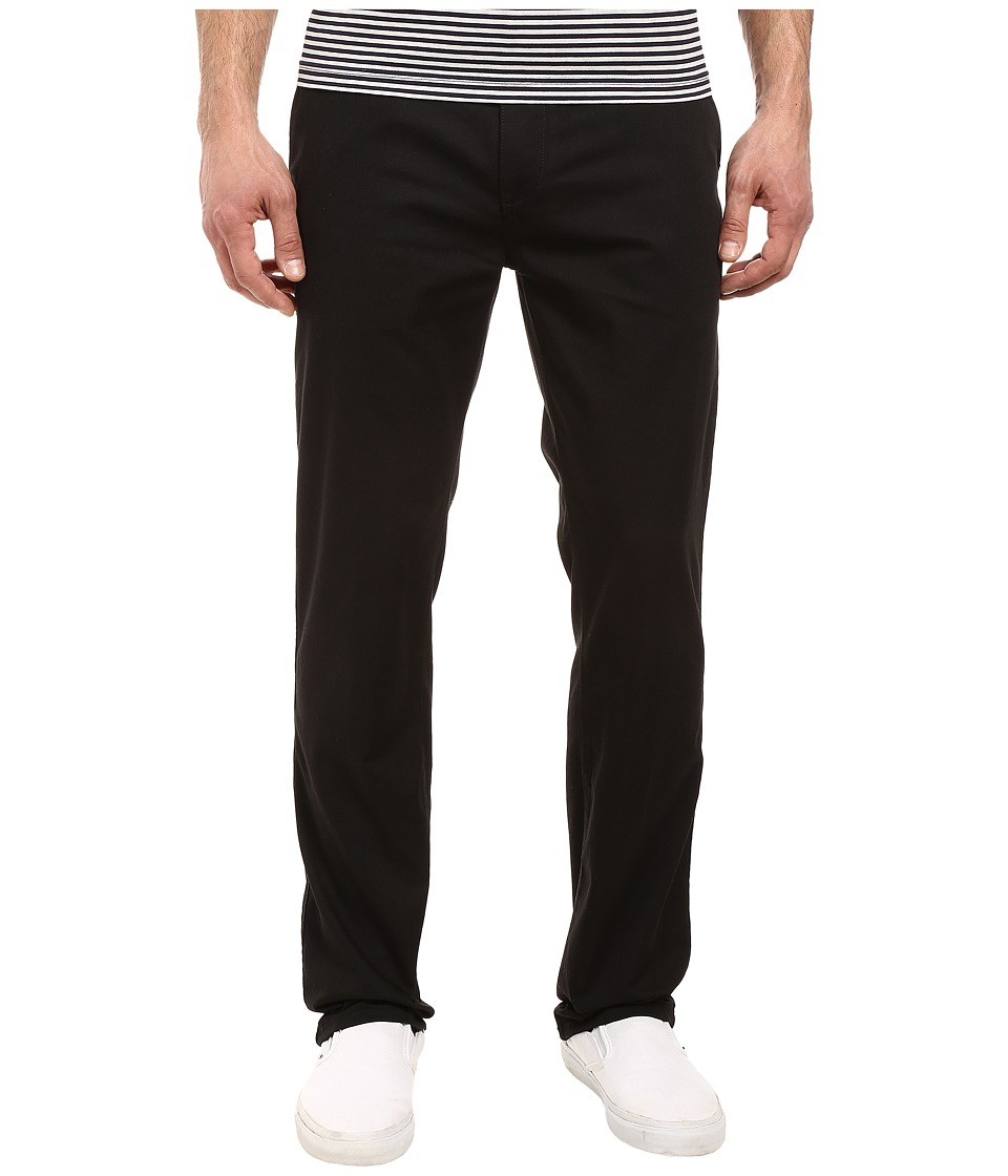Quiksilver - Everyday Union Stretch Chino (Black) Men's Casual Pants