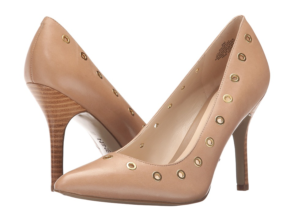 Nine West - Snap (Taupe Leather) Women's Shoes
