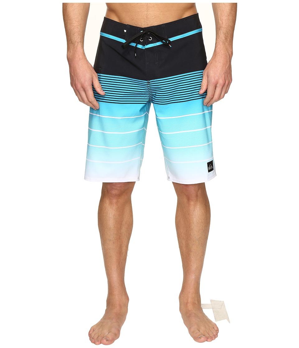 Quiksilver - Division Vee 21 Boardshorts (Scuba Blue) Men's Swimwear