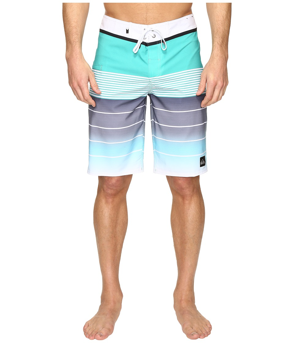 Quiksilver - Division Vee 21 Boardshorts (Nightshadow Blue) Men's Swimwear