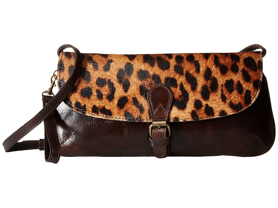 Patricia Nash - Baku Crossbody Clutch (Rust) Clutch Handbags