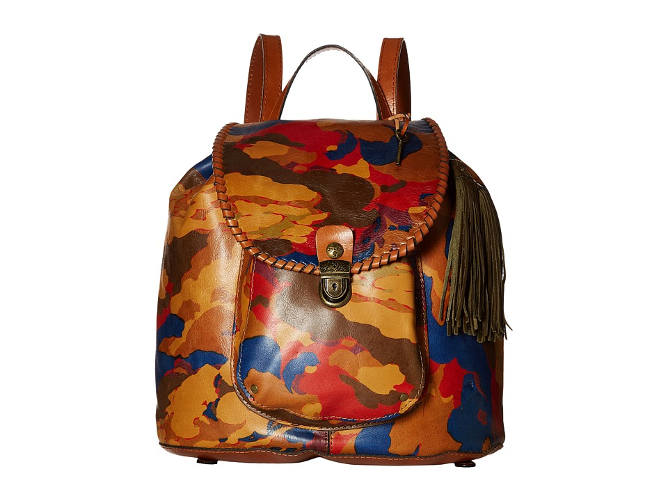 Patricia Nash - Casape Backpack (Parisian Camo) Backpack Bags