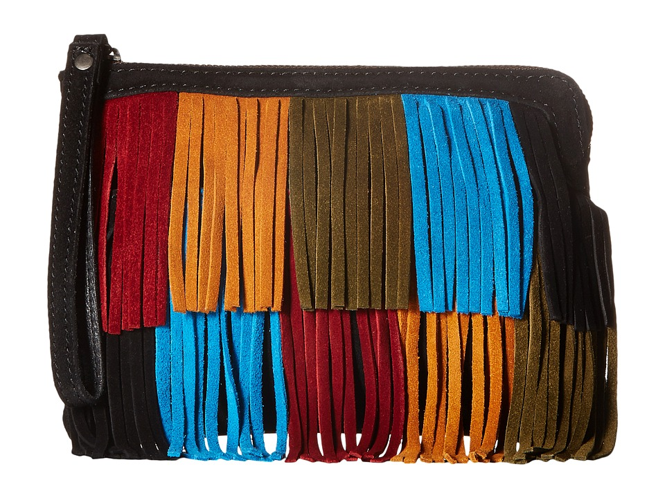 Patricia Nash - Cassini Wristlet (Black Multi) Wristlet Handbags