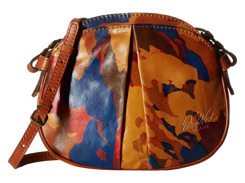 Patricia Nash - Chania Crossbody (Parisian Camo) Cross Body Handbags
