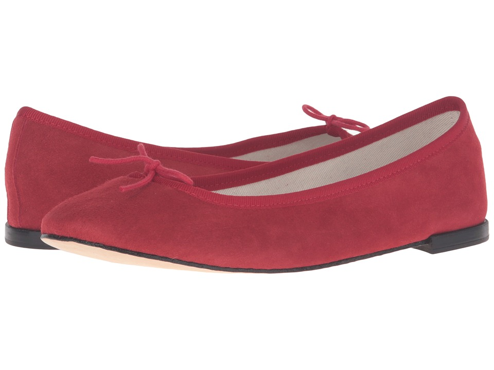 Repetto - Cendrillon (Flamme 1 (Red Suede 1)) Women's Flat Shoes