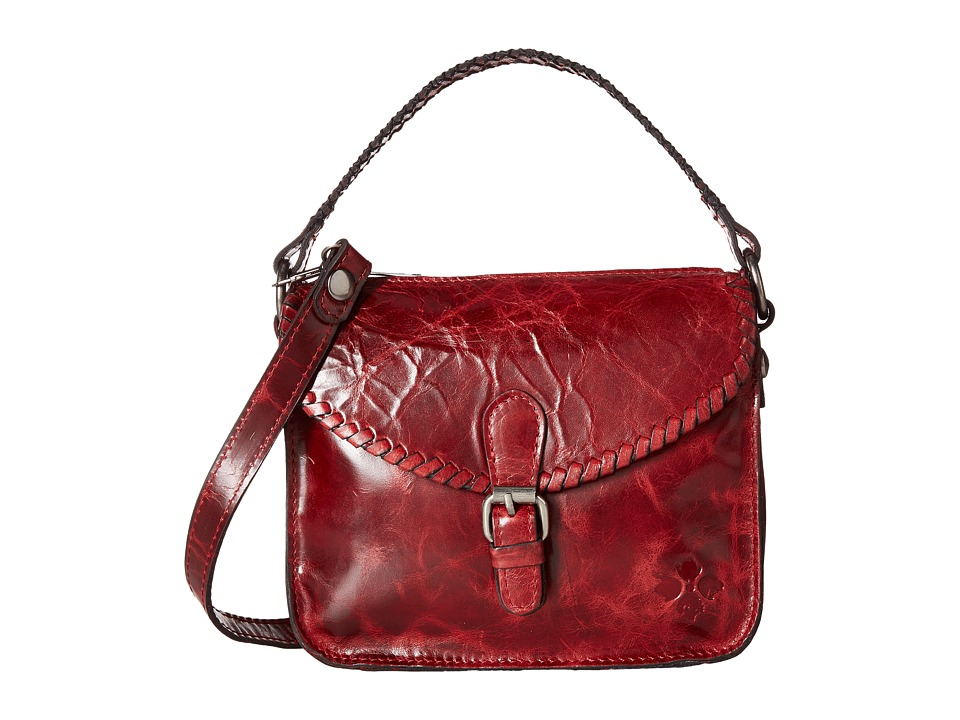 Patricia Nash - Rhodes Crossbody (Berry Red) Handbags