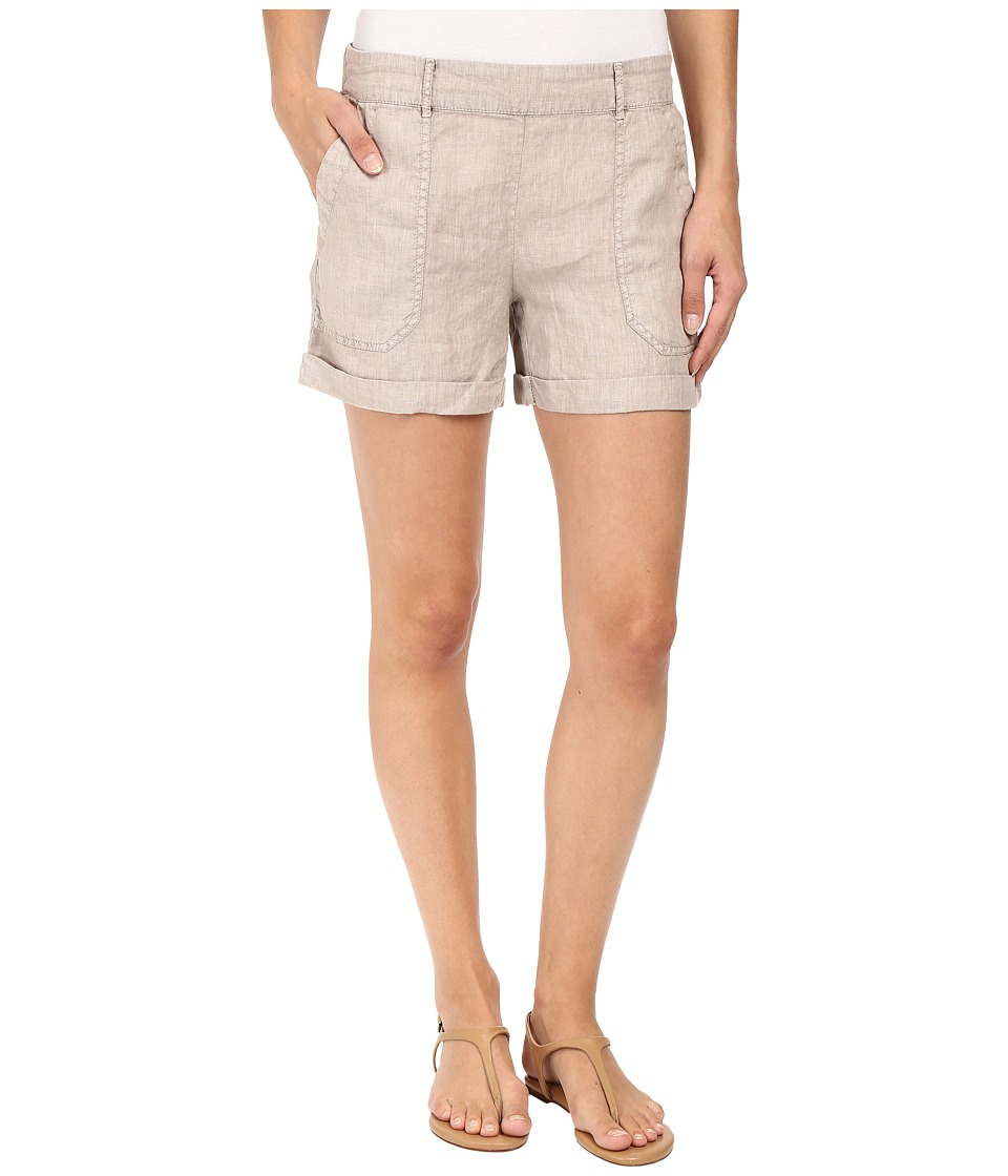 Three Dots - Joyce Cuffed Shorts (Taupe Sand) Women's Shorts