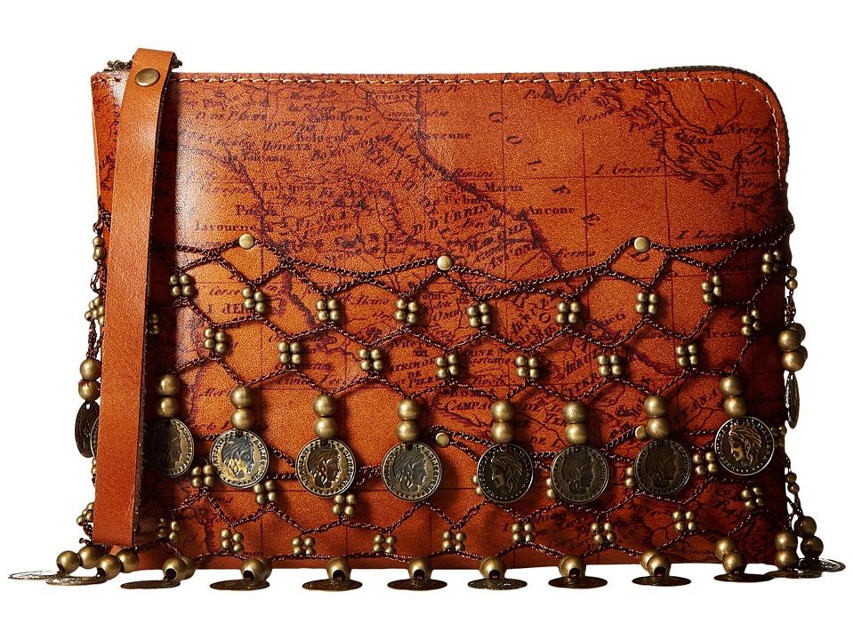 Patricia Nash - Cassini Wristlet (Rust) Wristlet Handbags