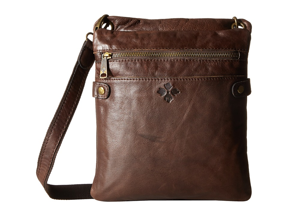 Patricia Nash - Vincenzo Slouchy Hobo (Chocolate) Hobo Handbags