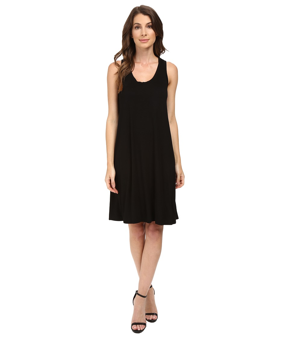 Three Dots - Elsa B Swing Dress (Black) Women's Dress