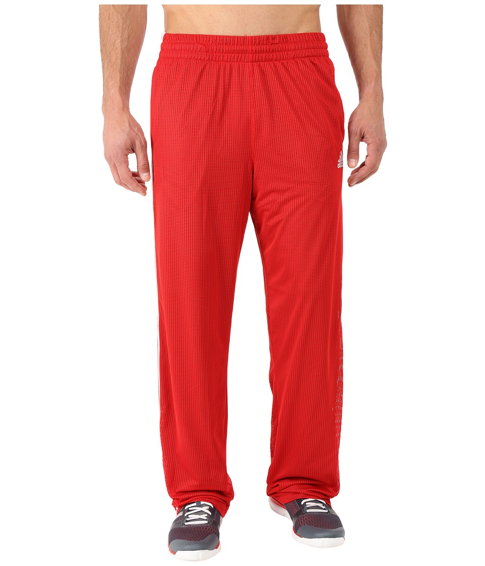 adidas - New Double Up Pants (Scarlet Red/Onyx) Men's Casual Pants