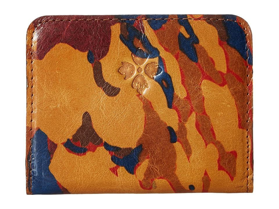 Patricia Nash - Lucia Snap Wallet (Parisian Camo) Wallet Handbags