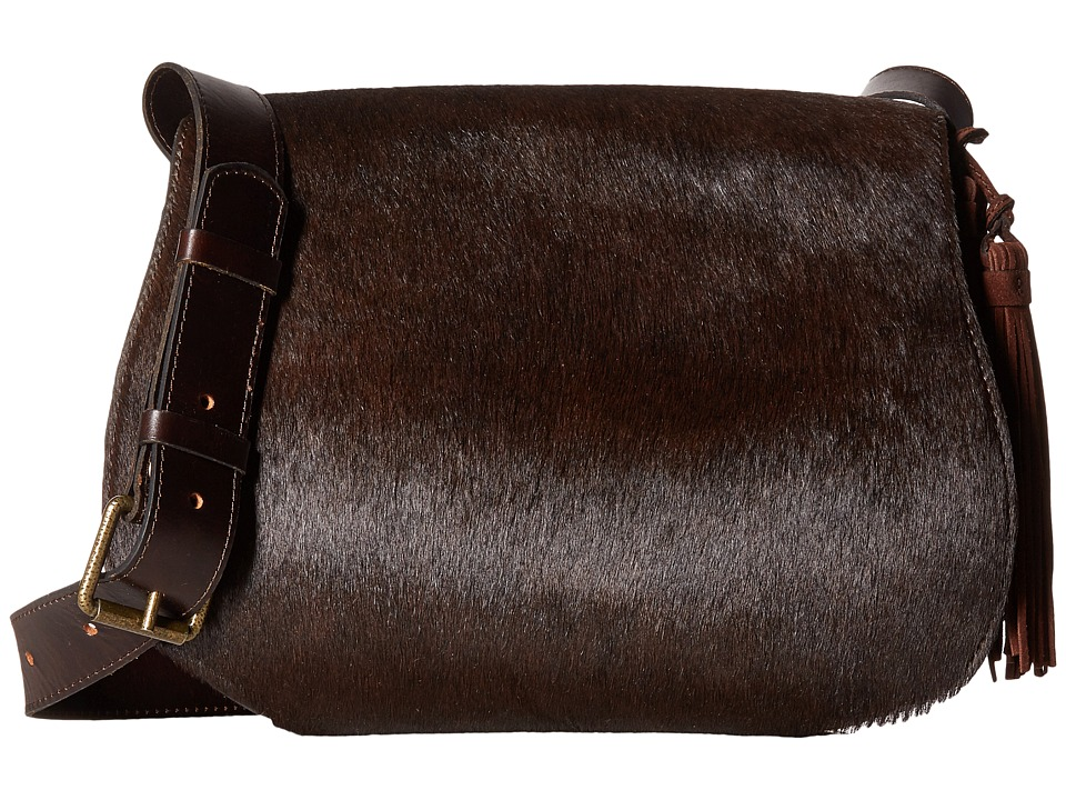Patricia Nash - Rioja Saddle Bag (Chocolate) Bags
