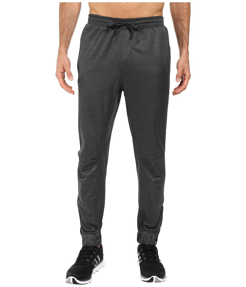 adidas - S1 Fleece Jogger Pants (Dark Grey Heather) Men's Casual Pants