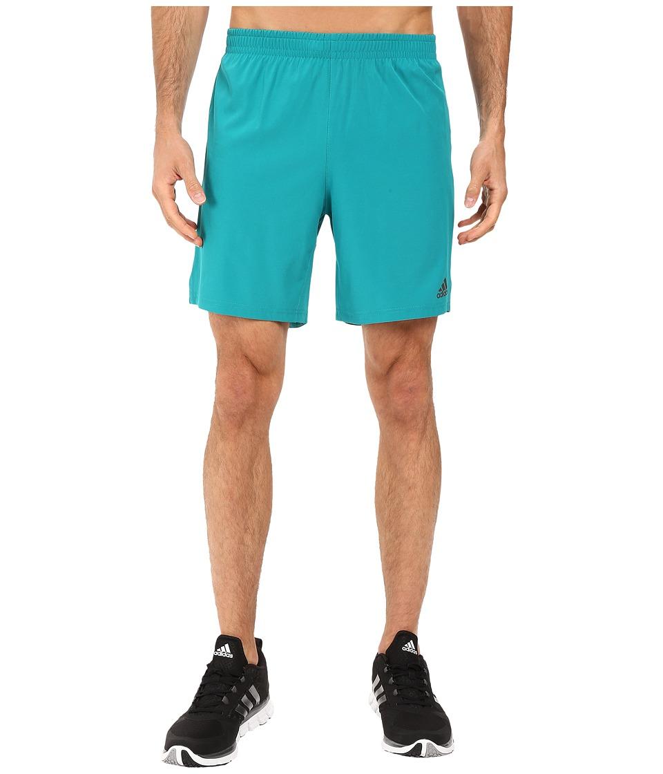 adidas - Supernova 7 Shorts (Equipment Green) Men's Shorts