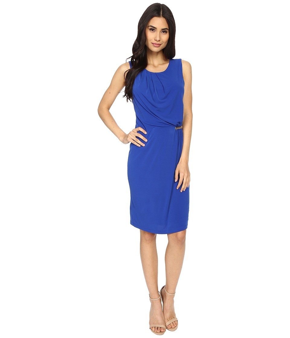Calvin Klein - Dress w/ Bar Hardware (Regatta) Women's Dress