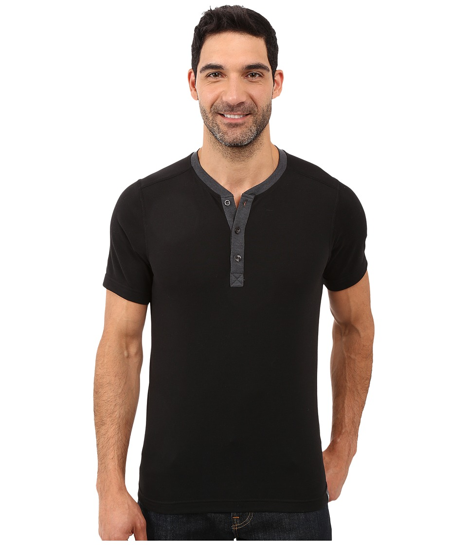 The North Face Short Sleeve Crag Henley (TNF Black) Men
