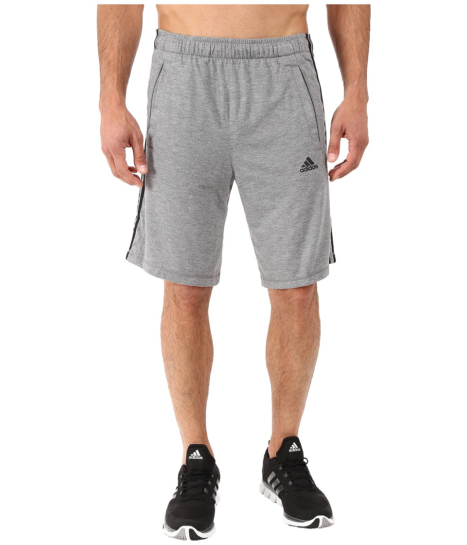 adidas - Essential The Shorts (Core Heather/Black) Men