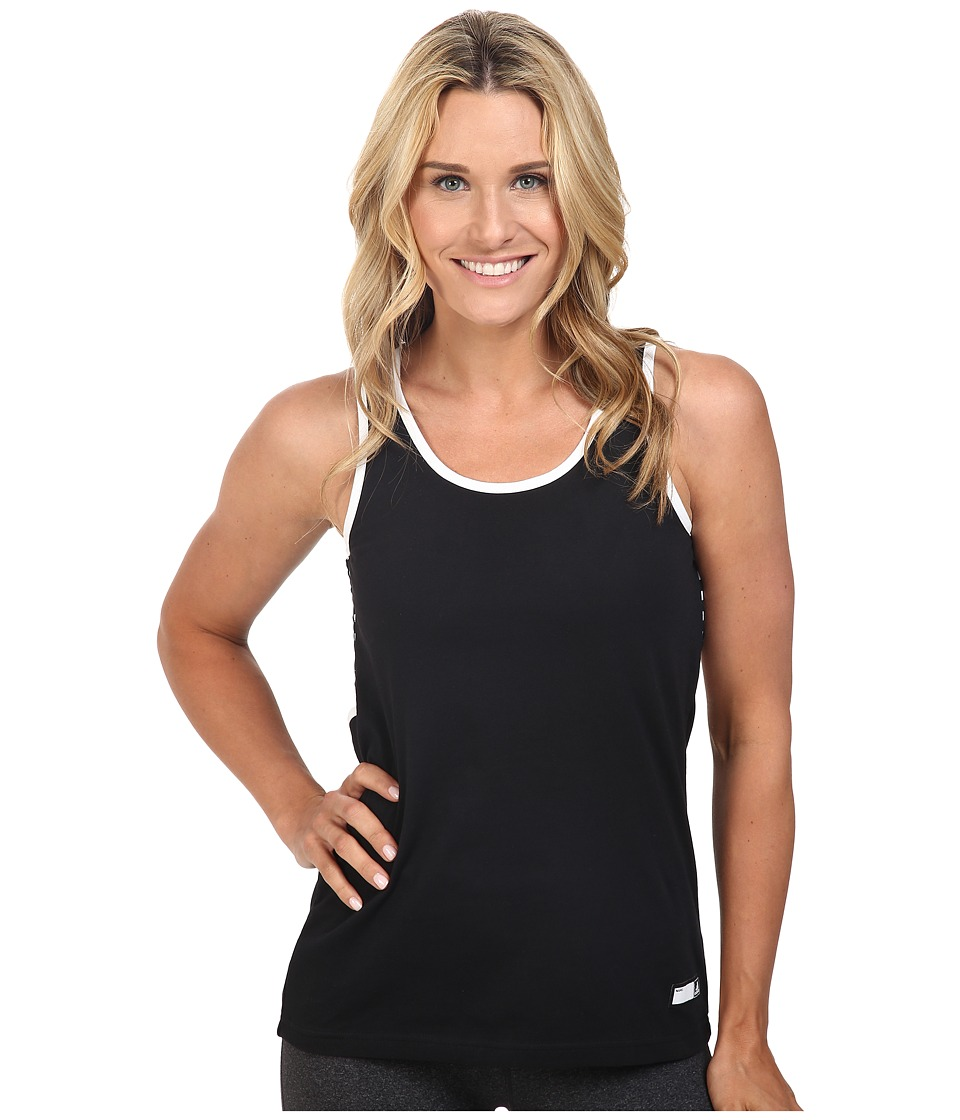 adidas - Stella Jersey Tank Top (Black/Black) Women's Sleeveless