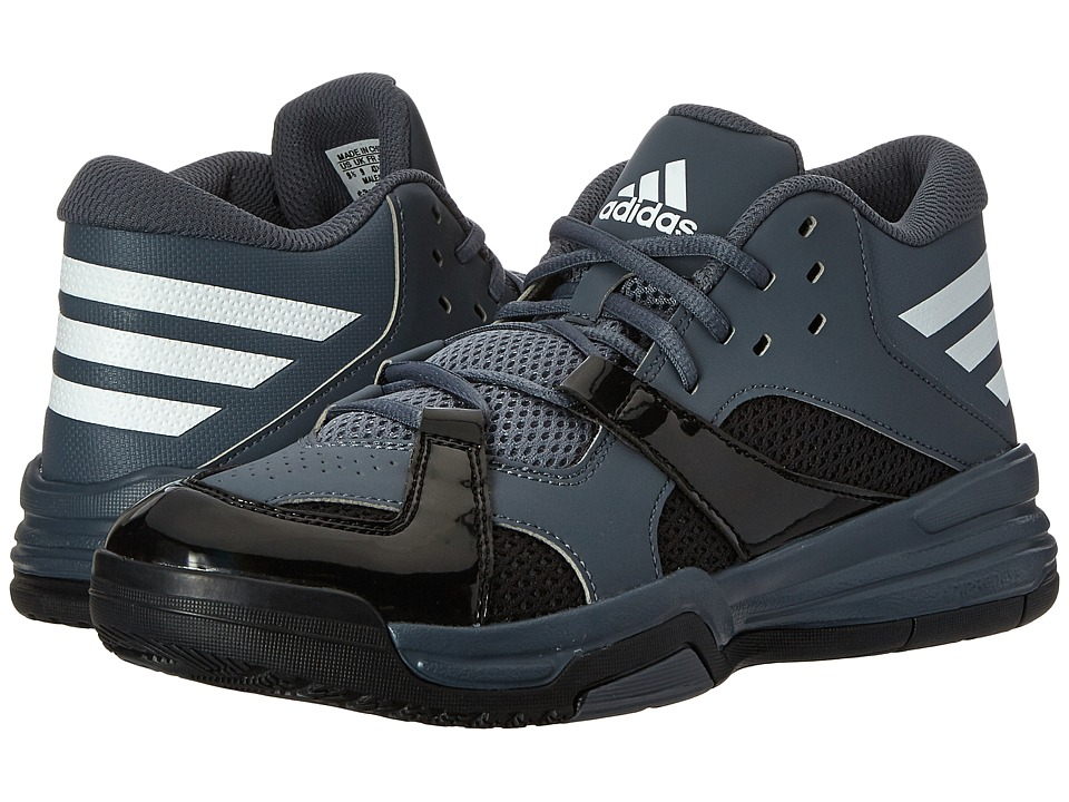 adidas - First Step (Onix/White/Black) Men's Shoes