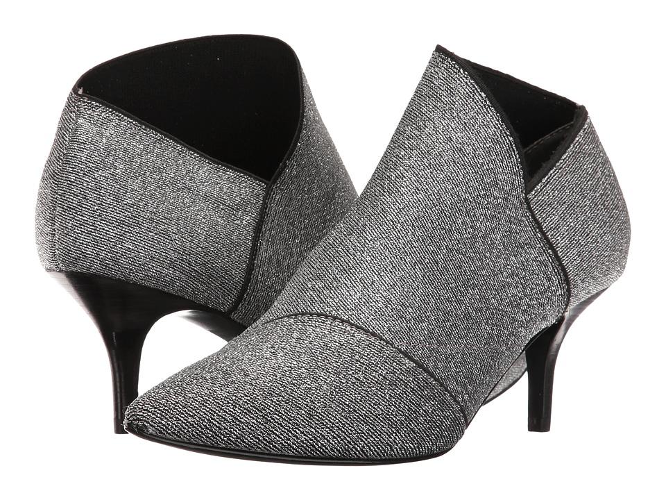 Adrianna Papell Hermes (Gunmetal Metallic Stretch) High Heels