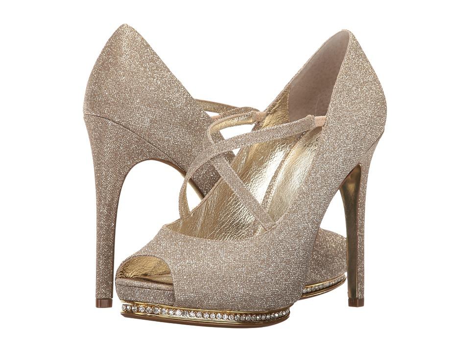 Adrianna Papell - Golda (Nude Aurora Metallic) Women's Slip on Shoes
