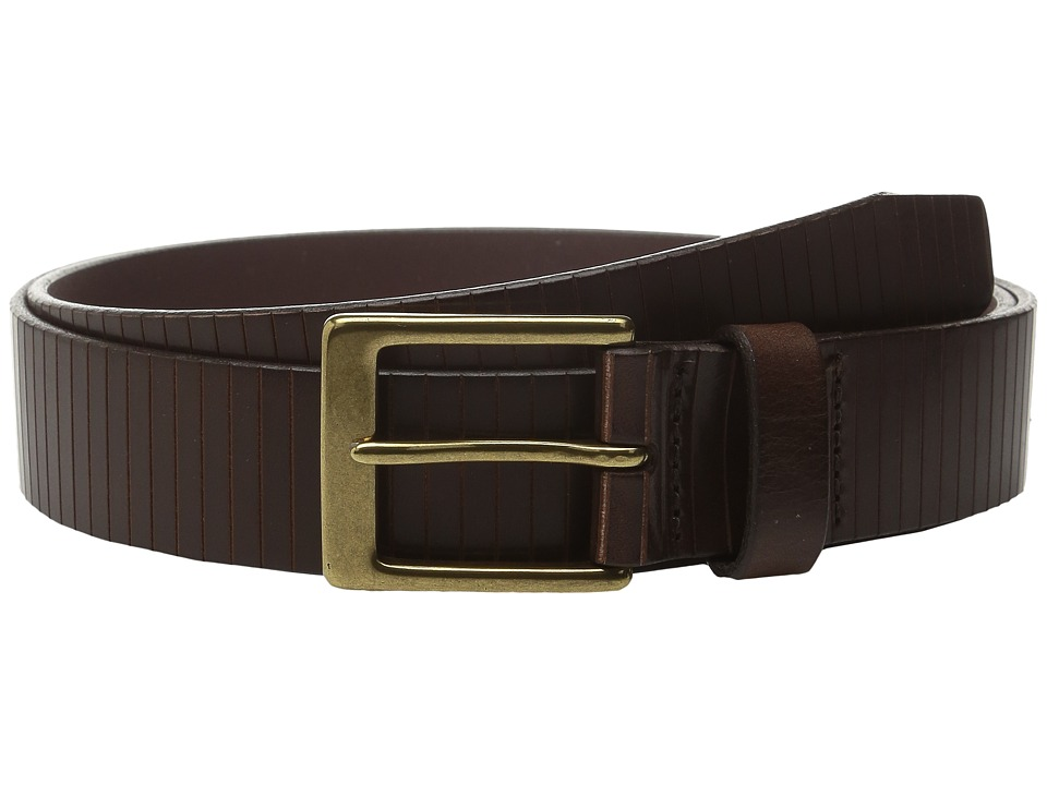 Allen Edmonds - Layton Ave (Brown) Men's Belts