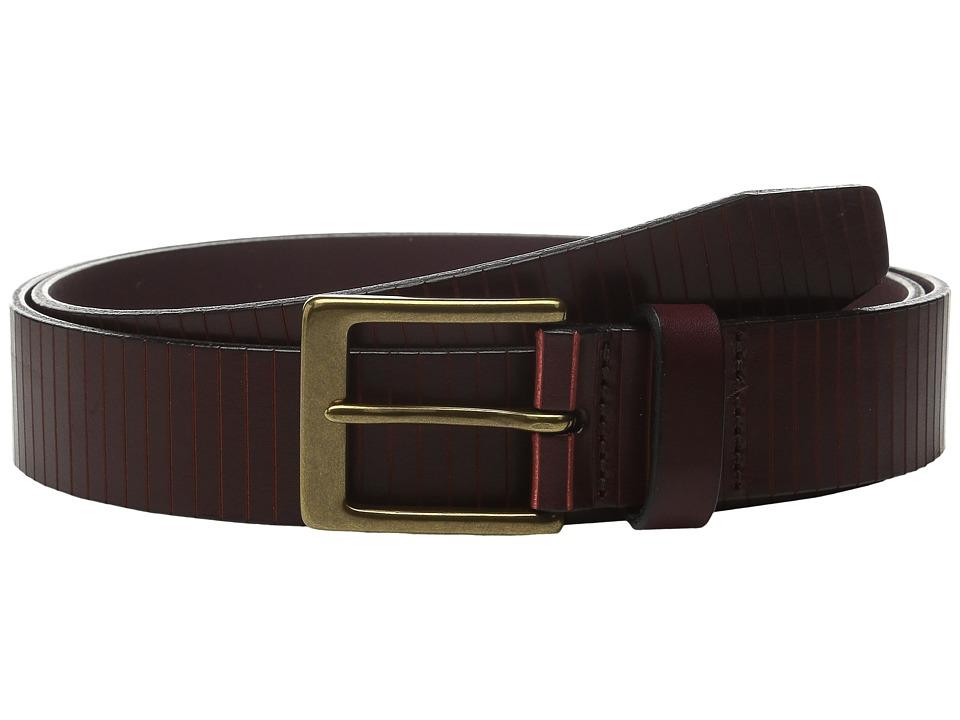 Allen Edmonds - Layton Ave (Burgundy Oxblood) Men's Belts