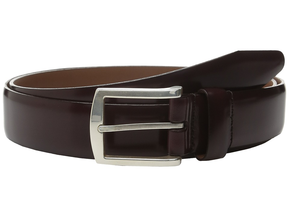 Allen Edmonds - Midland Ave (Oxblood) Men's Belts