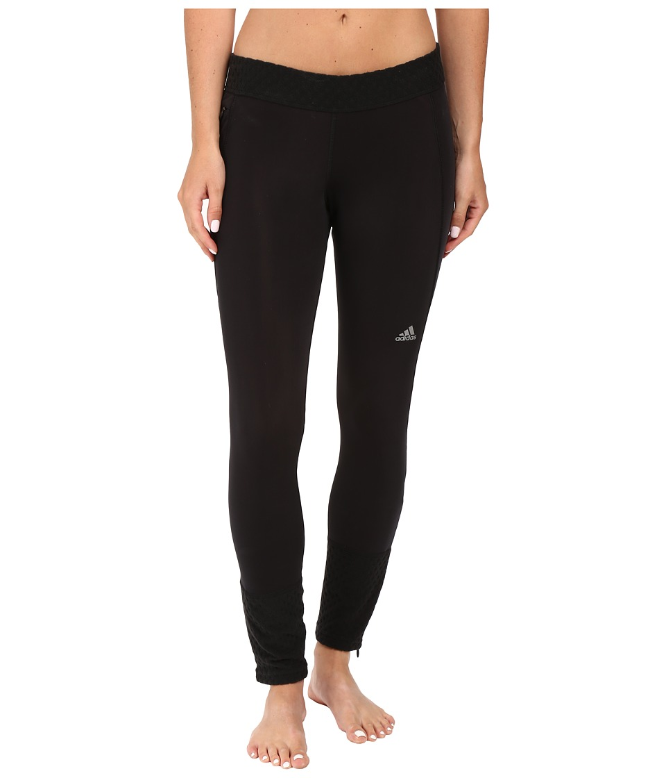 adidas - Sequential Climaheat Long Tights (Black) Women's Casual Pants