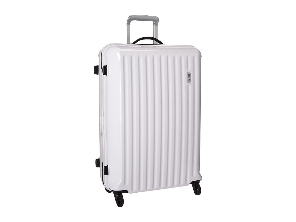 Bric's Milano - Riccione 27 Spinner (White) Luggage