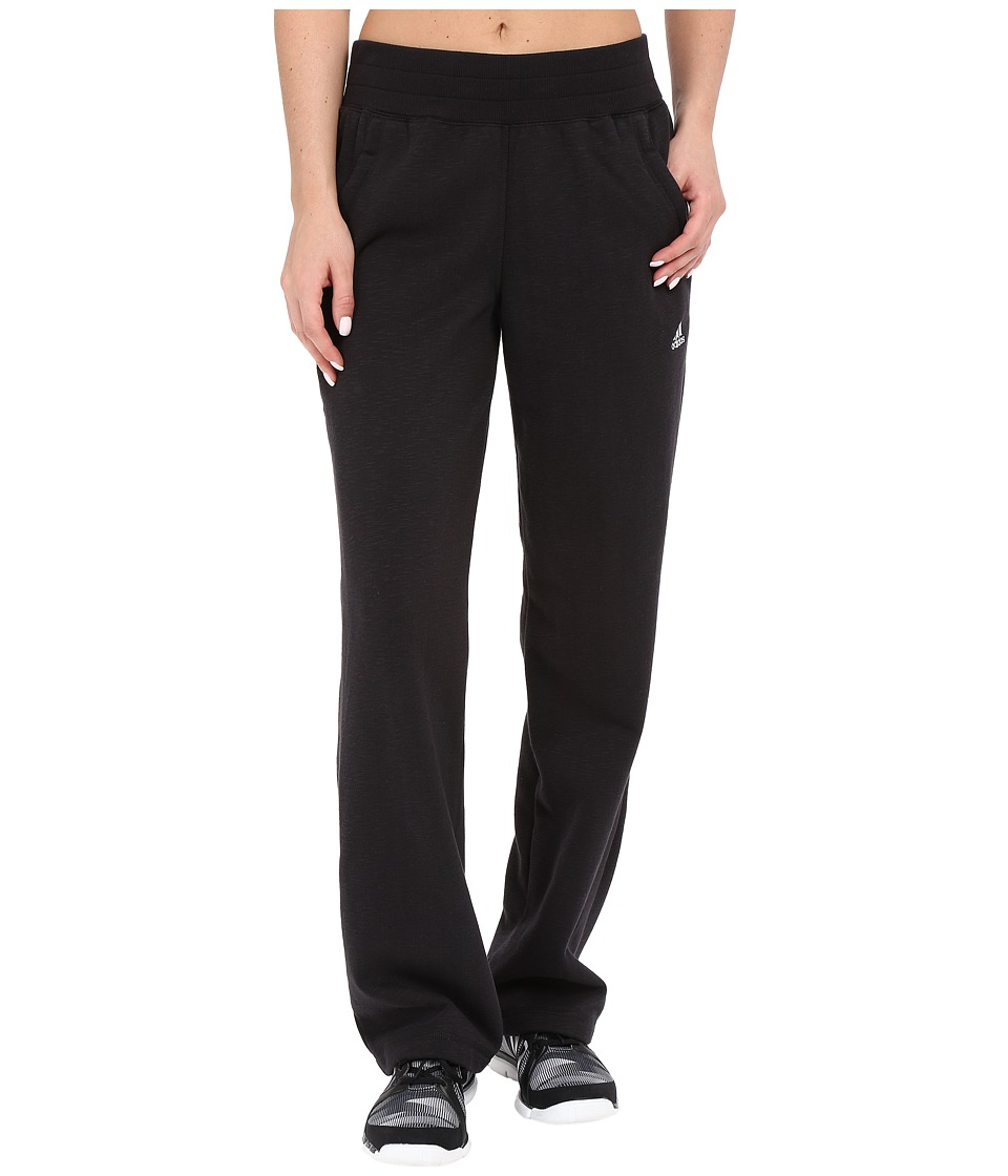 adidas - Cozy Pants (Black) Women's Casual Pants