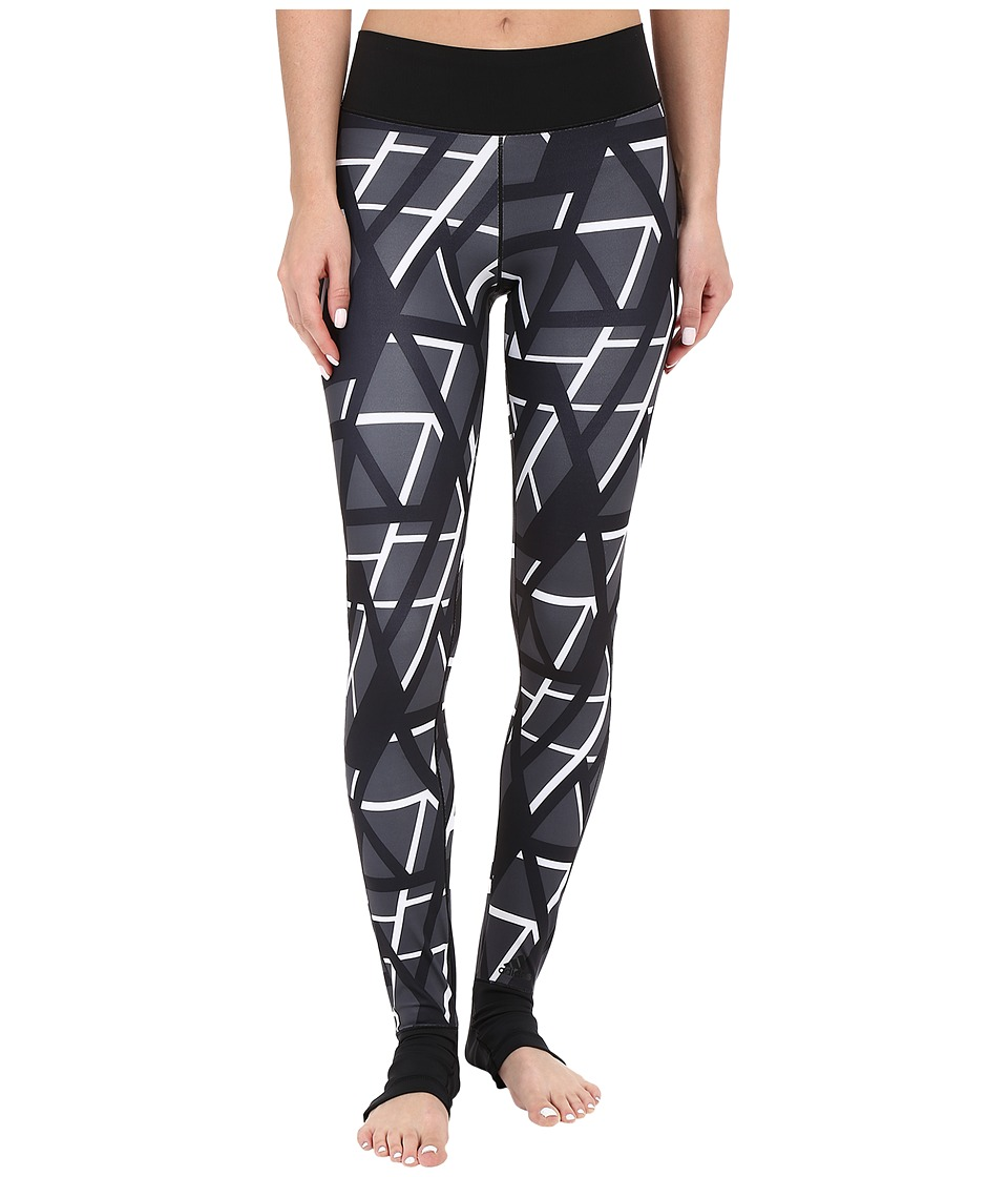 adidas - Wow High Rise Print Tights (Multicolor) Women's Casual Pants