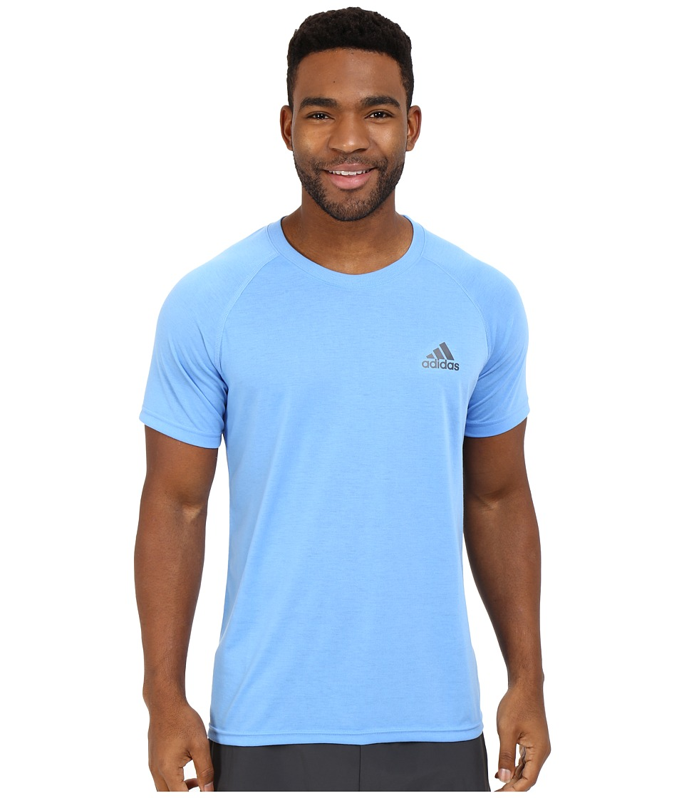 adidas - Ultimate S/S Crew Tee (Lucky Blue) Men's T Shirt