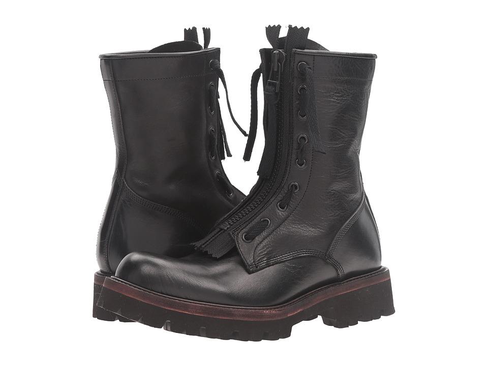 Y's by Yohji Yamamoto - Light Parachute Boots (Black) Women's Boots