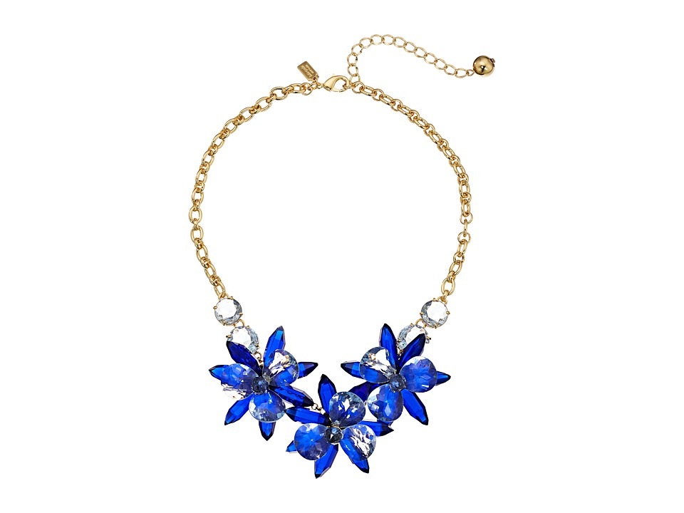 Kate Spade New York - Blooming Brilliant Small Necklace (Blue Multi) Necklace
