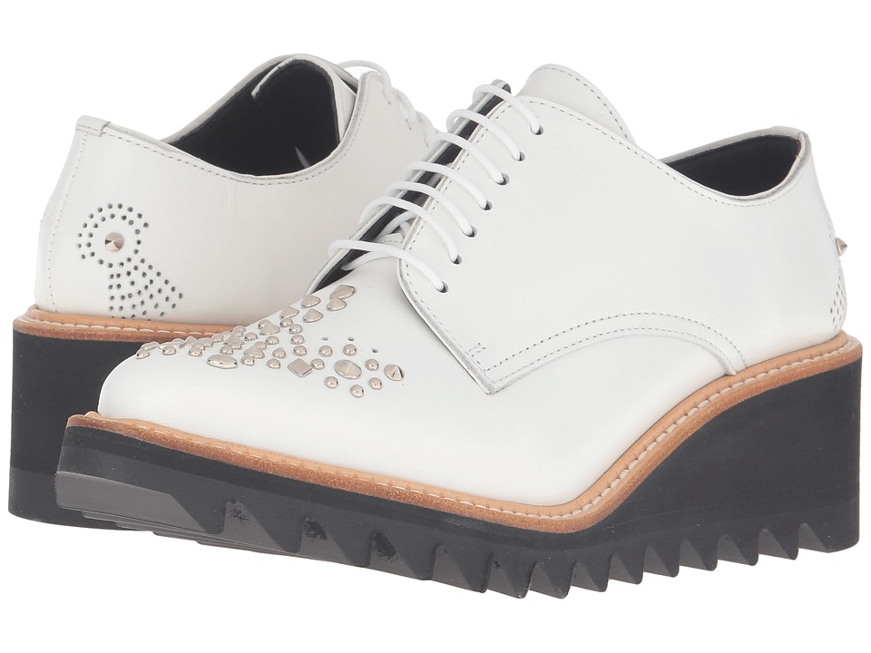 Y's by Yohji Yamamoto - Studs Shark Sole (White) Women's First Walker Shoes