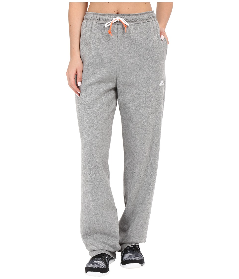 adidas - Fleece Dorm Pants (Core Heather) Women