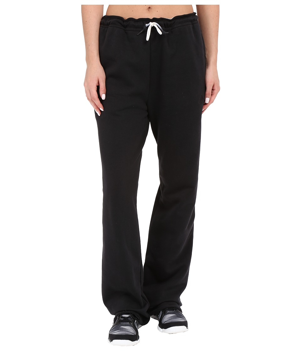 adidas - Fleece Dorm Pants (Black) Women's Fleece