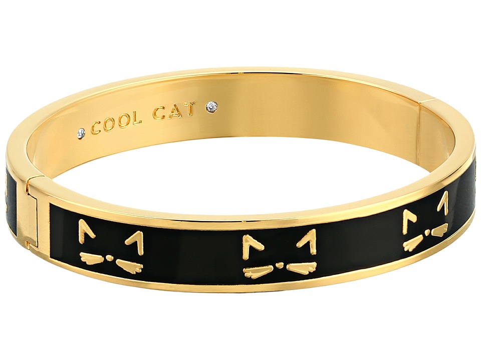 Kate Spade New York - Idiom Bangles Cool Cat - Hinged Bracelet (Multi) Bracelet