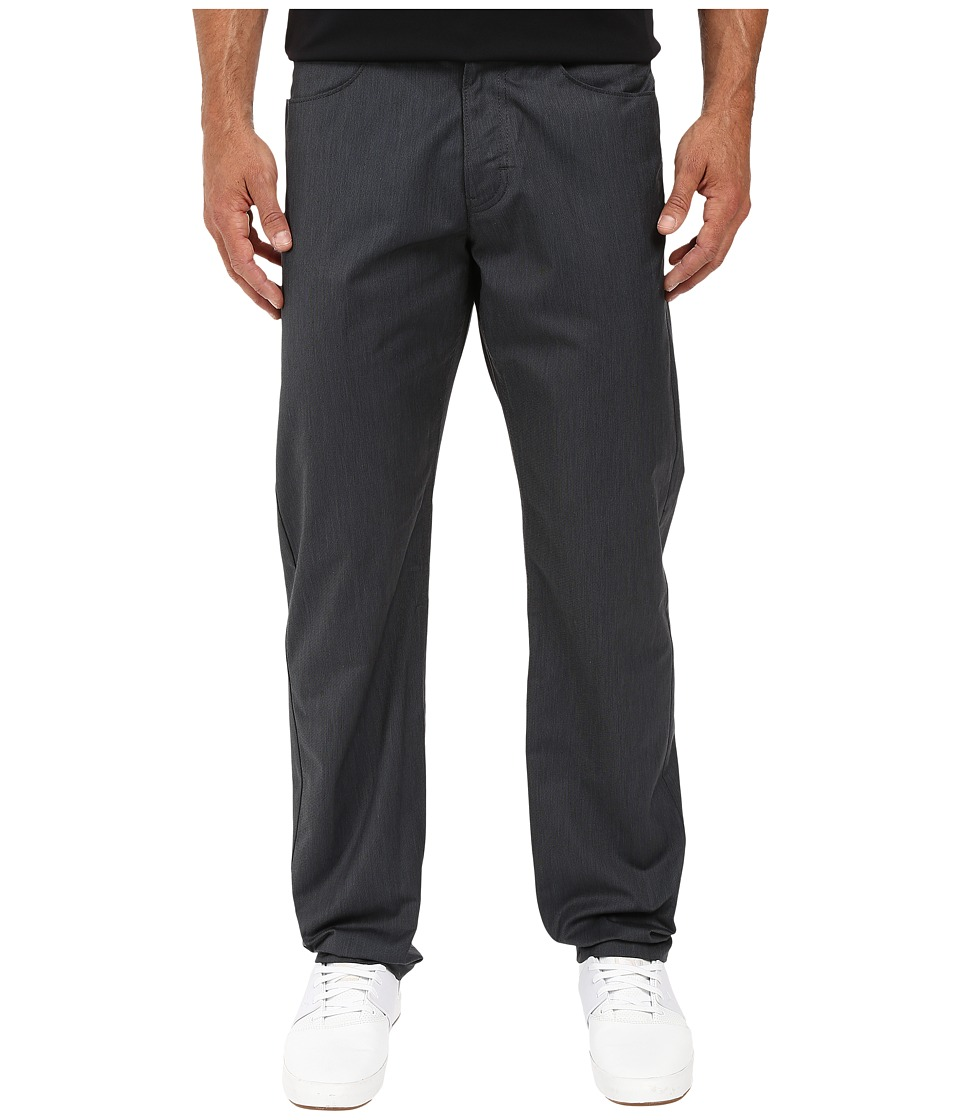 Calvin Klein - Four-Pocket Twill Pants (Black) Men's Casual Pants
